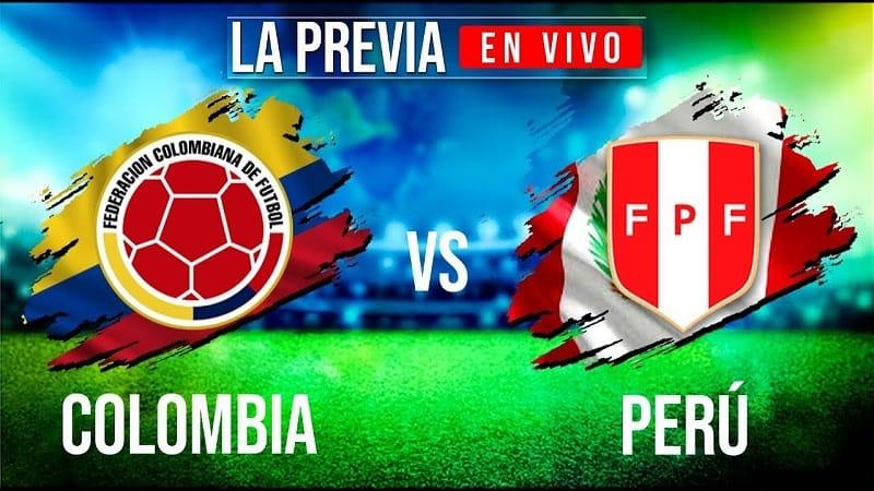 Soi kèo bóng đá nhà cái Peru vs Colombia 09h00 ngày 04/06/2021