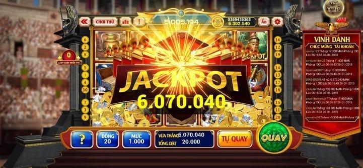 Thủ thuật chơi Jackpot